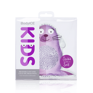 BodyICE Kids Sasha the Seal – ICE OR HEAT PACK TO SOOTHE KNOCKS AND BRUISES