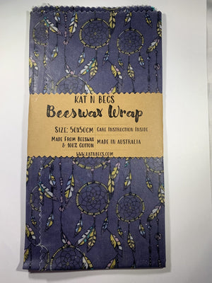 Kat n Becs Beeswax Wrap – Dream Catcher