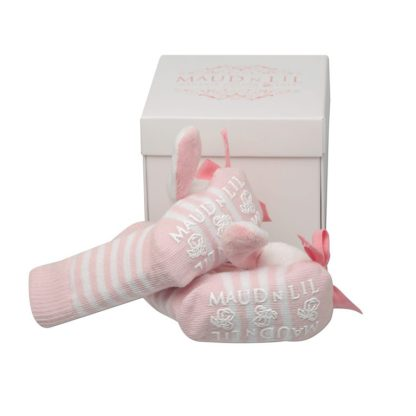 Maud n Lil Baby Jingle Rattle Bell Socks in Gift Box – Rose the Bunny