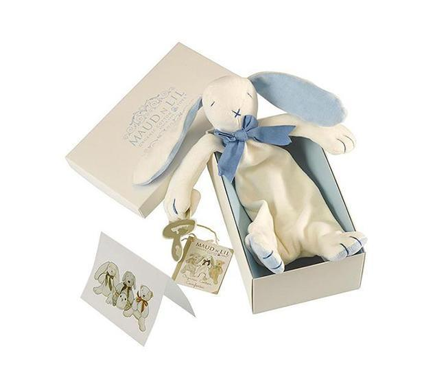 Load image into Gallery viewer, Maud & Lil Organic Comforter Box Set – Oscar the Bunny