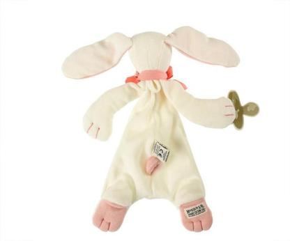 Load image into Gallery viewer, Maud & Lil Organic Comforter Box Set – Rose the Bunny