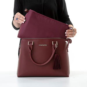 Load image into Gallery viewer, Ruby Cool Clutch (Burgundy) Ladies Cool Briefcase