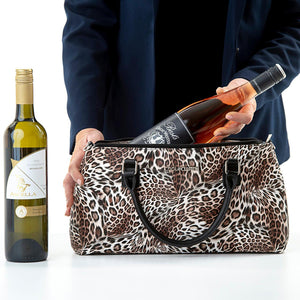 Load image into Gallery viewer, Yvonne Cool Clutch (Leopard) Cooler Bag