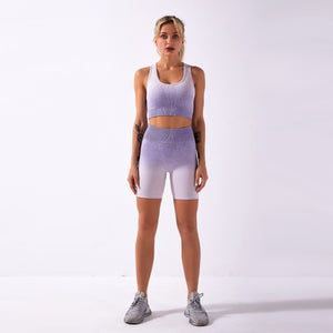 Super modisches Running und Fitness Set - Capri Leggings