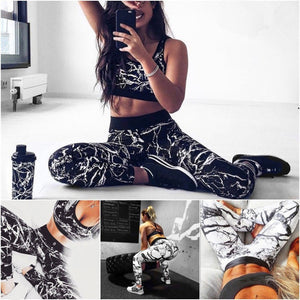 Attraktives Yoga- und Fitness Set