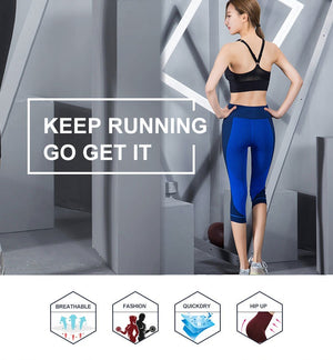 Elastische Running Capri - Leggings