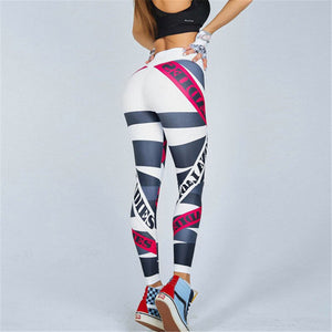 Fitness und Runings Leggings, normaler Bund