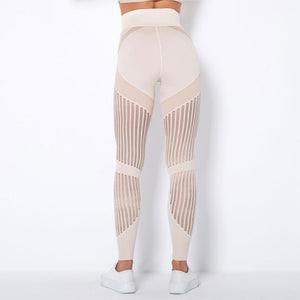 Elastische, solide Running Leggings