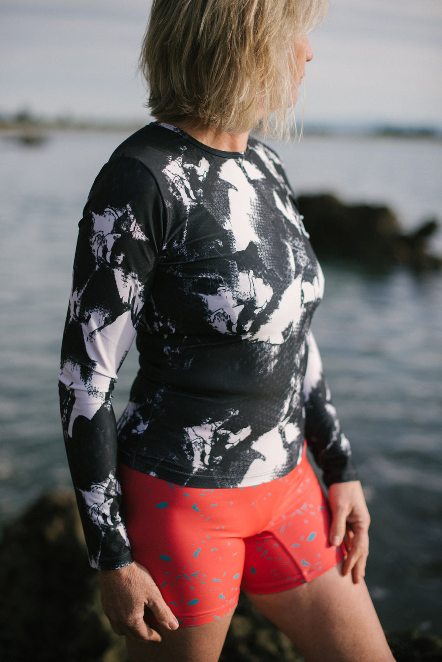 Long Sleeved Sun Top - Selene