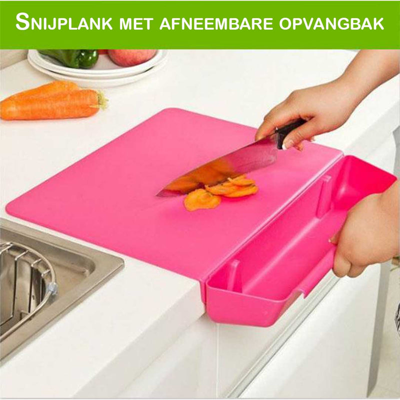 2-in-1 anti-slip snijplank