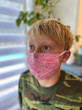 Load image into Gallery viewer, Kids Bubble gum - Reusable Cotton Cloth Child Face Mask