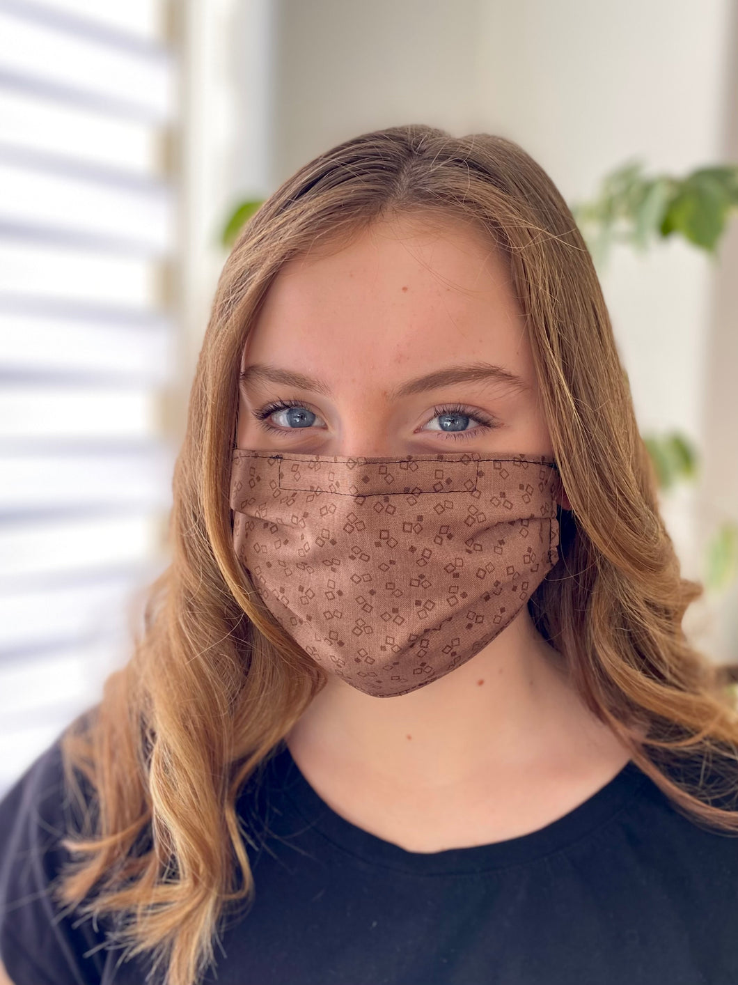 Cocoa - 3 Layers Reusable Cotton Cloth Face Mask