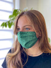 Load image into Gallery viewer, Emerald - 3 Layers Reusable Cotton Cloth Face Mask