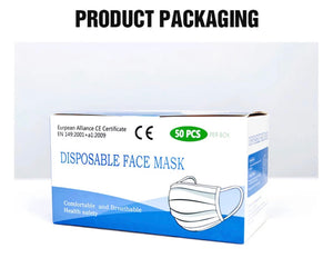 R4M 3 ply Antiviral Disposable Face Mask (10pc Box)