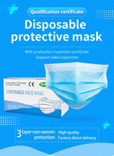 Load image into Gallery viewer, R4M 3 ply Antiviral Disposable Face Mask (10pc Box)