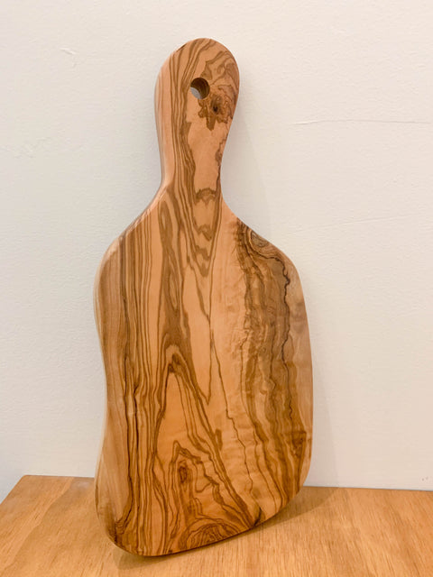 Olive Wood Small Serving Board in Natural