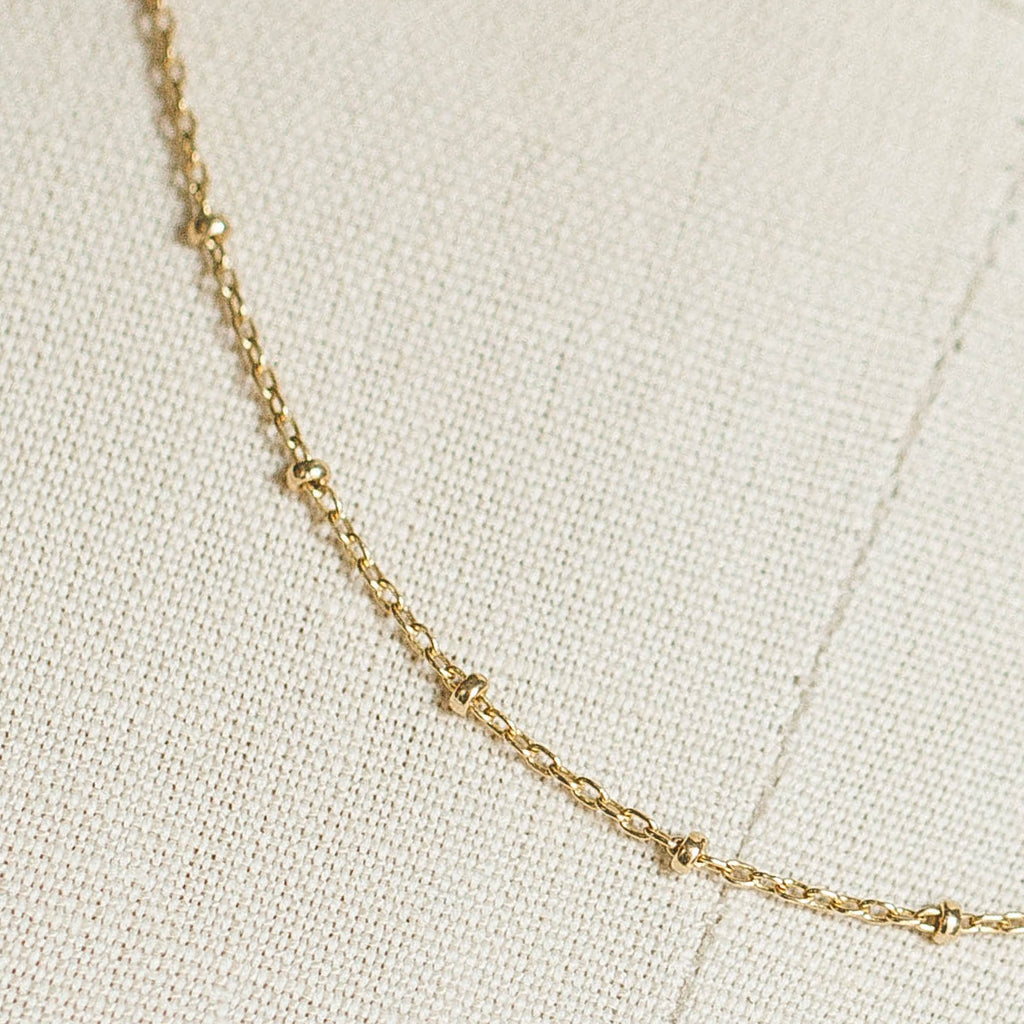 Devi Arts Collective Gold Ball Layering Choker