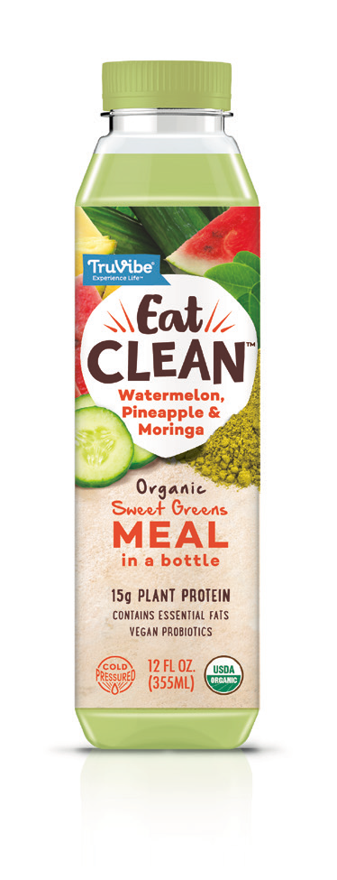 Sweet Green Meal - Pineapple Watermelon & Moringa (Case of 12)