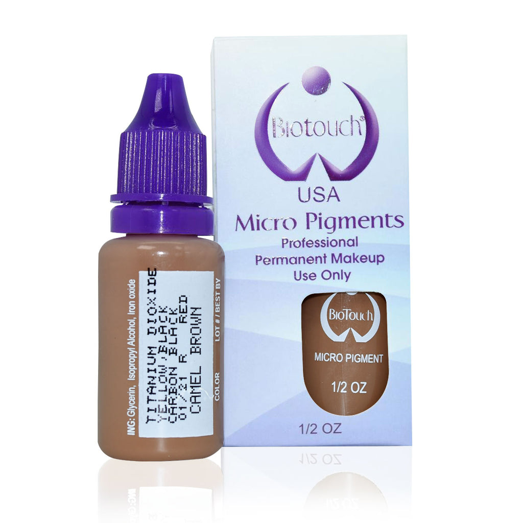 1/2 oz Microblading Pigment - Camel Brown