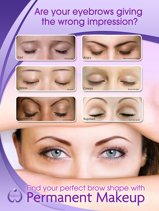 Poster, Find Your Perfect Brow Shape