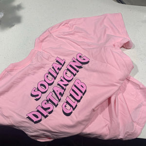 PINK SDC TEE