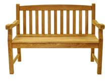 Load image into Gallery viewer, Classic Teak Bench