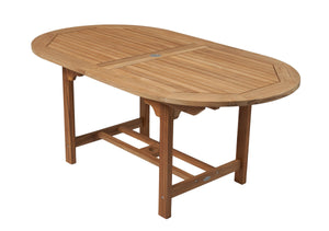 Oval Expansion Umbrella Table