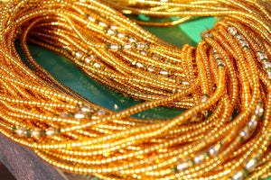 Gold Honeyed Traditional Waistbead - Moon Water and Honey