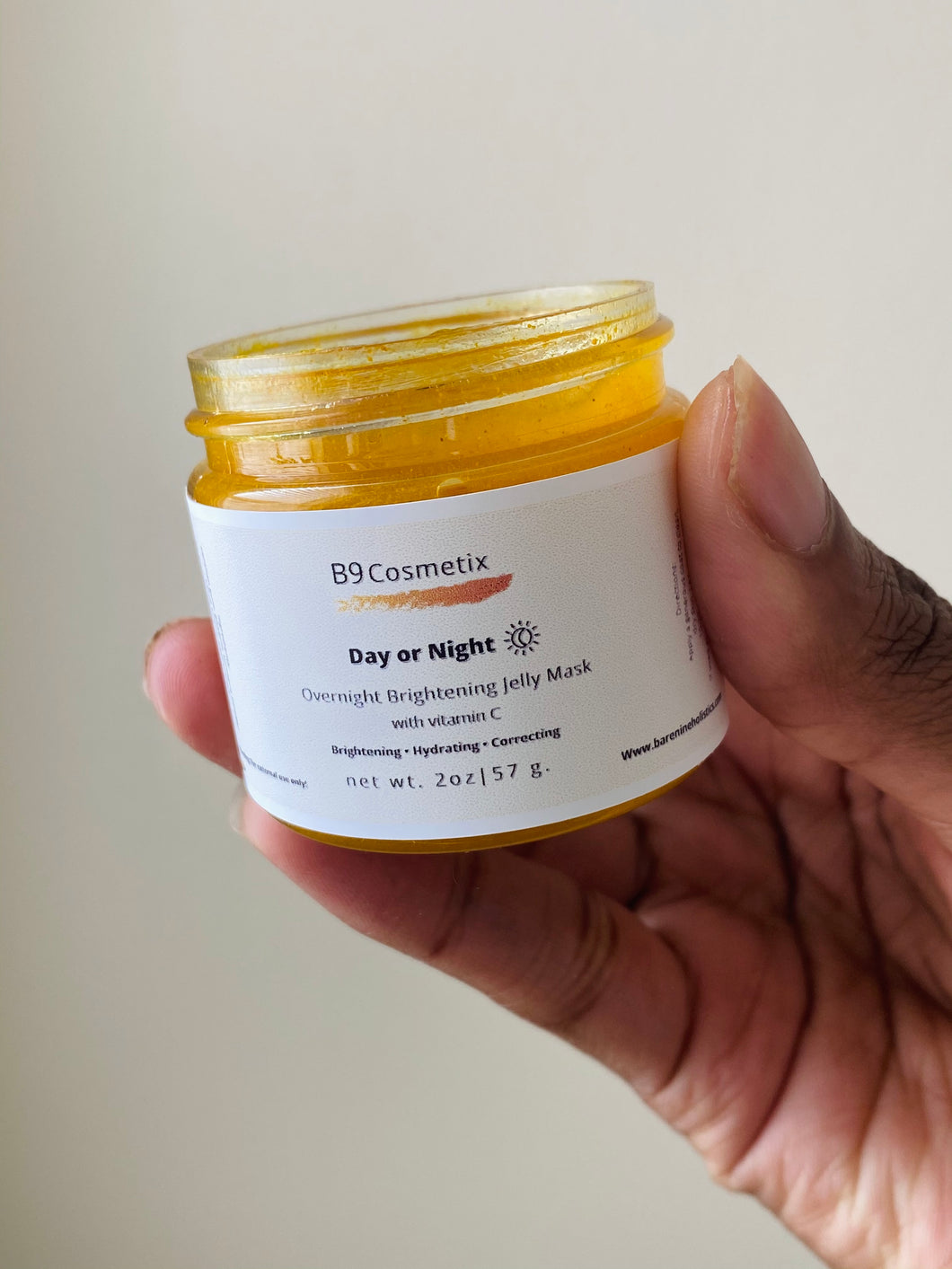 Day or Night: Overnight Brightening Jelly Mask
