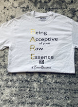 "Load image into Gallery viewer, ""Gold Glory"" Black/white Acronym Tee"