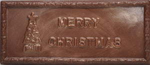 Merry Christmas Bar - Peppermint & Milk Chocolate