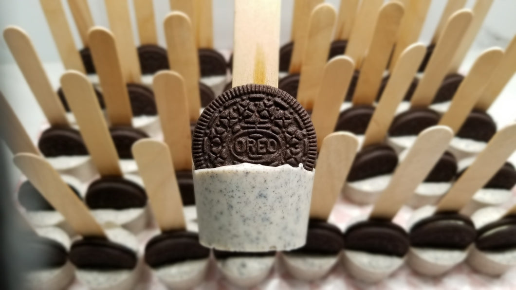 Cookies & Cream (Hot / Cold) Chocolate Stirrer