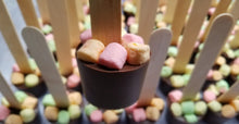 Load image into Gallery viewer, Classic Marshmallow Hot Chocolate Stirrer