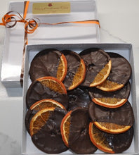 Load image into Gallery viewer, Dried Oranges Dipped in Dark Chocolate