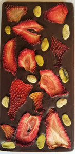 Sugar-Free Strawberry Pistachio Chocolate