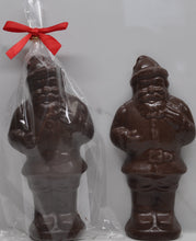 Load image into Gallery viewer, Standing Santa with Dark Chocolate