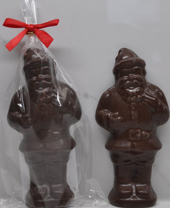 Standing Santa with Dark Chocolate