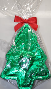 Large Christmas Tree shaped Chocolate Gift Box with Candied Orange Slices