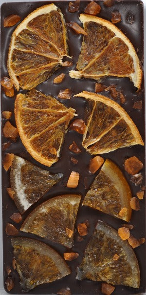 Triple Orange Chocolate Bar