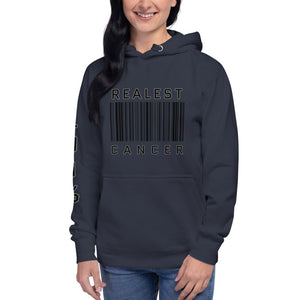 The Realest Zodiac Unisex Hoodie (Cancer) - Zodi-Hacks Apparel
