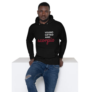 The Gifted Zodiac Unisex Hoodie (Scorpio) - Zodi-Hacks Apparel