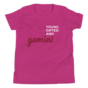 The Gifted Zodiac Youth Tee (Gemini) - Zodi-Hacks Apparel