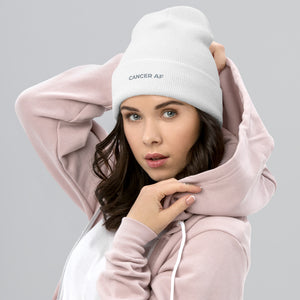 AF Zodiac Cuffed Beanie (Cancer) - Zodi-Hacks Apparel