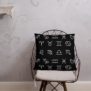 Zodiac Unity Pillow (White)