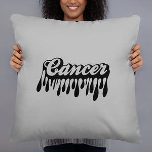 The Drip Zodiac Pillow (Cancer) - Zodi-Hacks Apparel