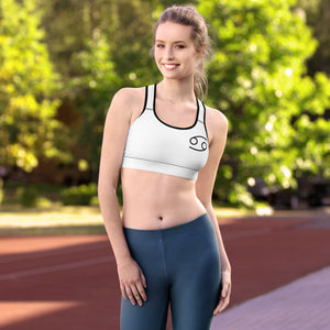 Women's Zodi-Hacks Cancer Sports Bra - Zodi-Hacks Apparel