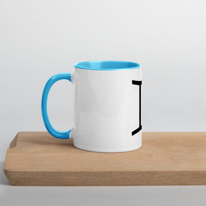 Gemini Symbol Mug with Color Inside - Zodi-Hacks Apparel