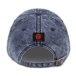 Zodi-Hacks Leo Vintage Cotton Twill Cap - Zodi-Hacks Apparel