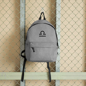 Zodi-Hacks Libra Embroidered Backpack - Zodi-Hacks Apparel