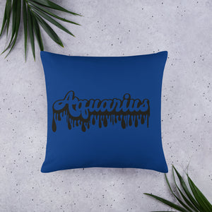 The Drip Zodiac Pillow (Aquarius) - Zodi-Hacks Apparel